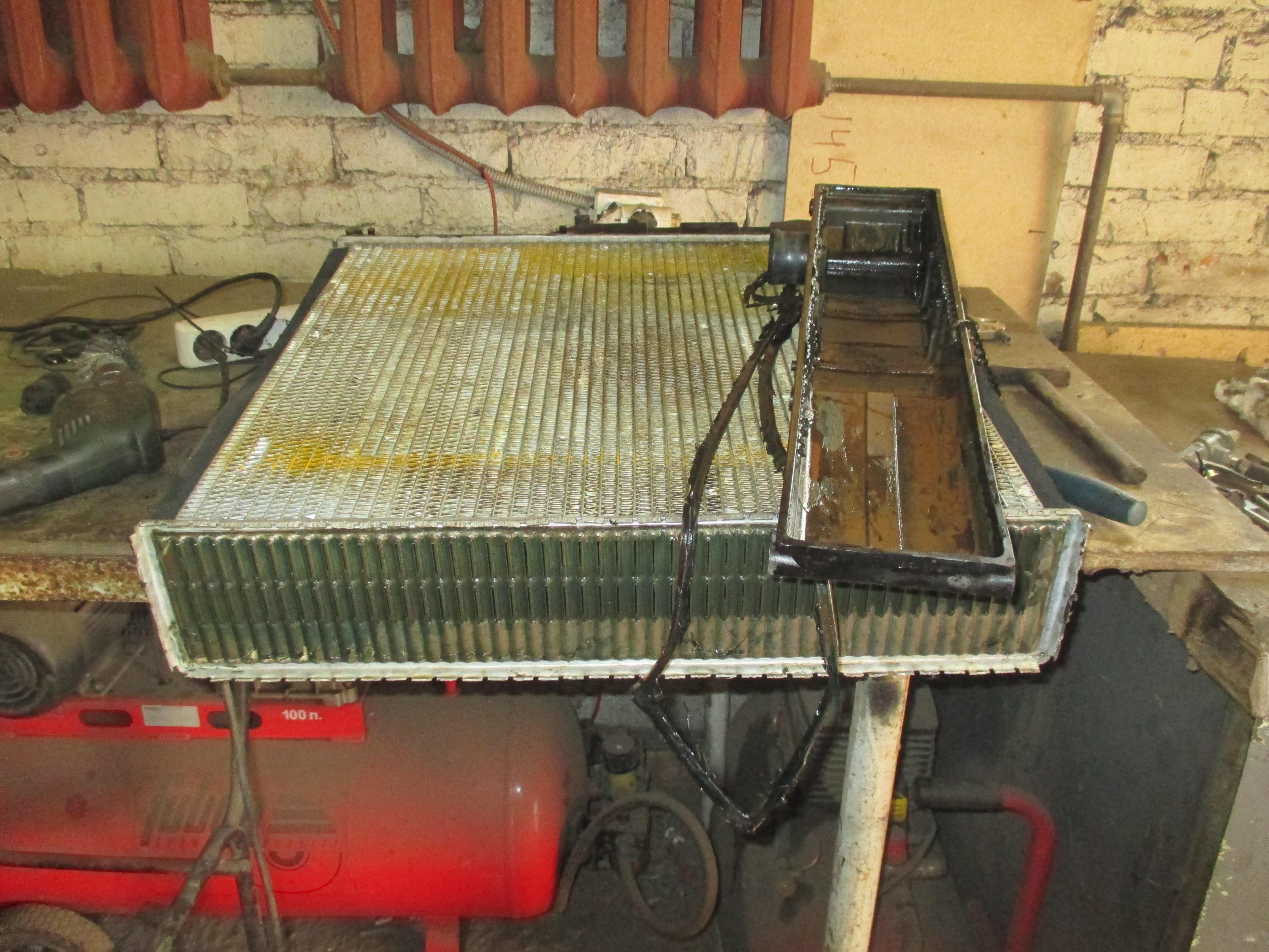 Ремонт радиаторов автомобилей 19 фотография